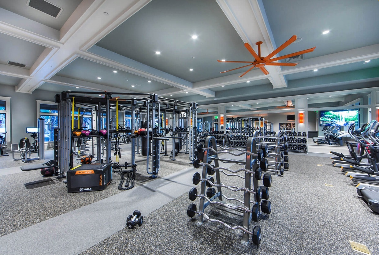 Fitness center in Shearwater