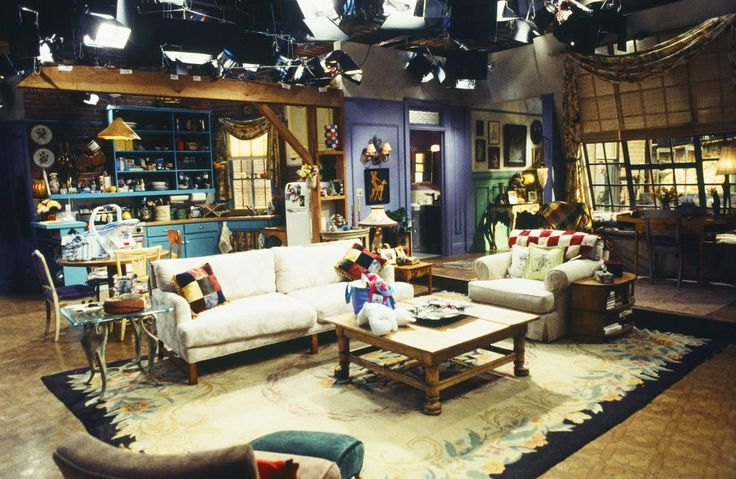 Monica and rachel s home in the tv series friends illustrates the