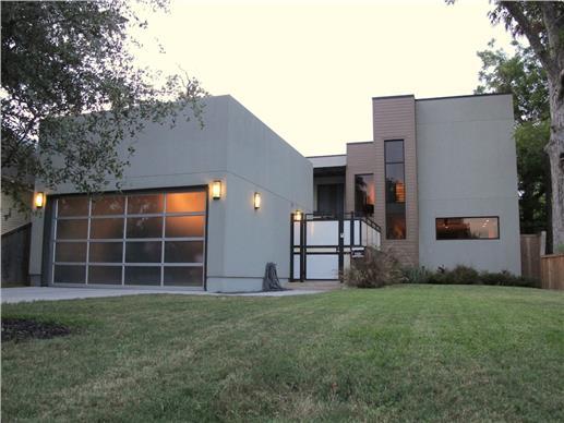 Modern Home Ideal for a Green Roof Garden