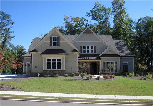 Craftsman style luxury home (# 163-1047)