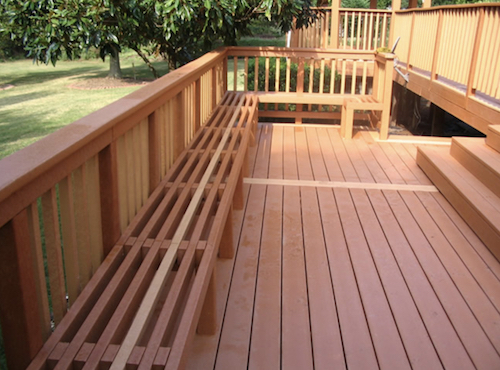 High-density-polyethylene (HDPE) decking