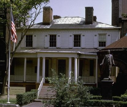 The Grange just prior to the home's move from its St. Luke's location on Convent Avenue