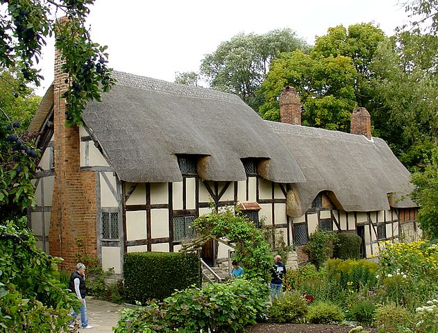 Ann Hathaway's cottage in England