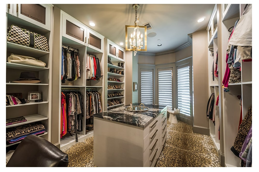 "Dream ""to die for"" walk-in master closet"