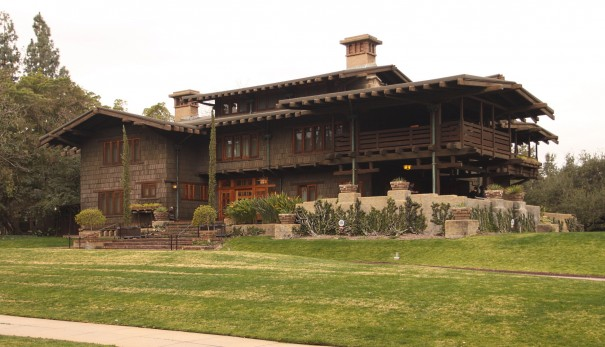 Gamble House in Pasadena, CA, built in 1908 by Greene and Greene