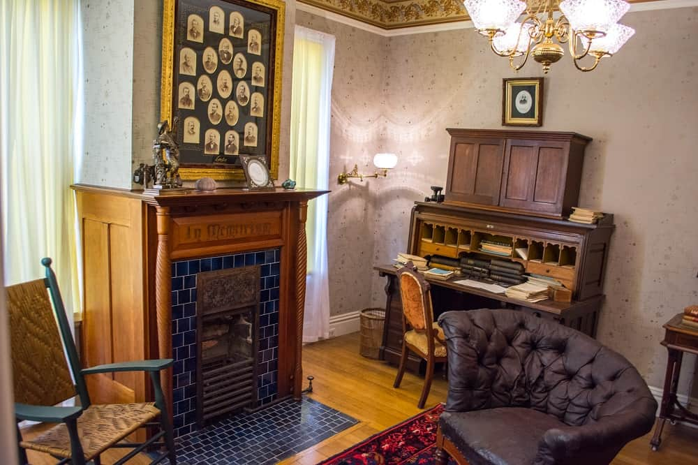 James Garfield's personal study at Lawnfield