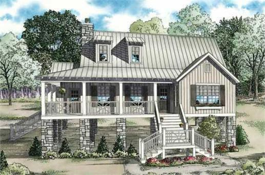 Southern house plans reshaping an elegant style for for Low country house plans with porches
