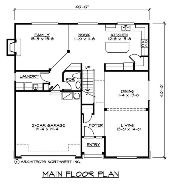 Split level house designs the plan collection for Main level floor plans