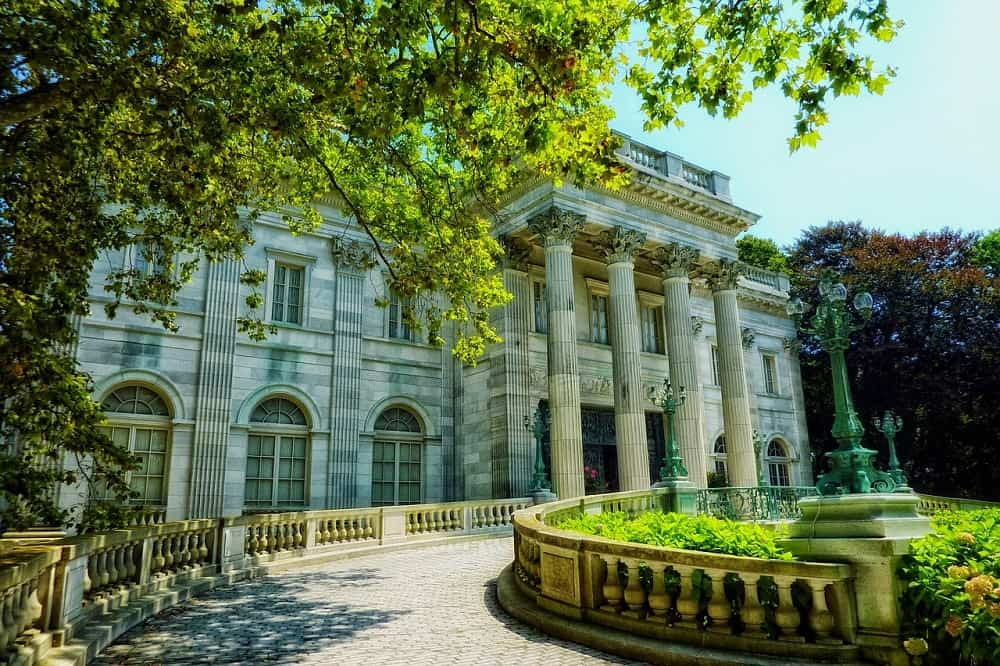 "The ""summer cottage"" Marble House in Newport, RI"