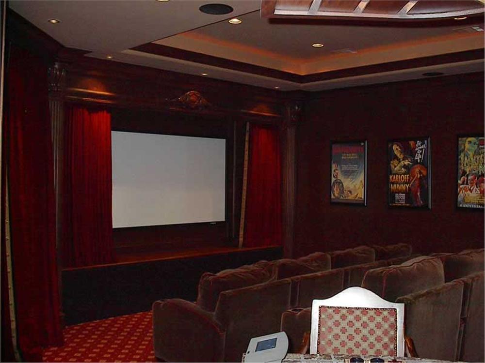 Media room in House Plan #143-1355
