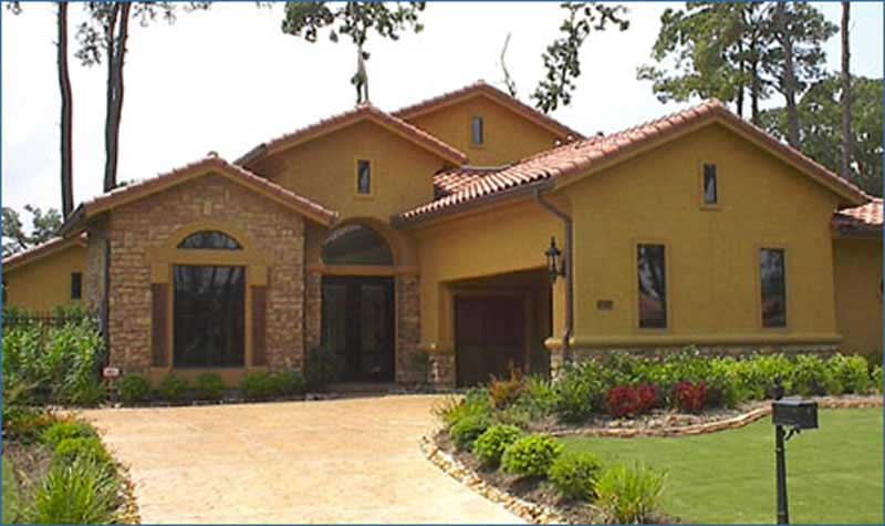 Mediterranean - Tuscan Style Home Plan