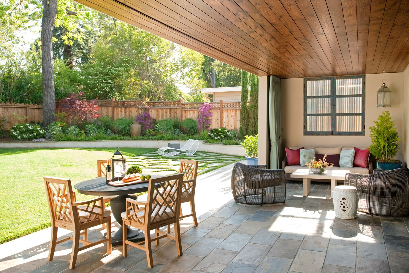 6 design ideas to perk up your outdoor living space with color