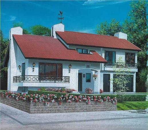 Main image for house plan # 126-1540