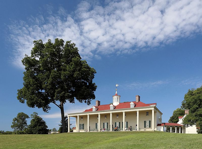 Mount Vernon Estate facing the Potomac River