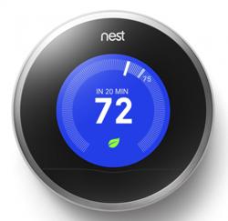 modern house plan thermostat