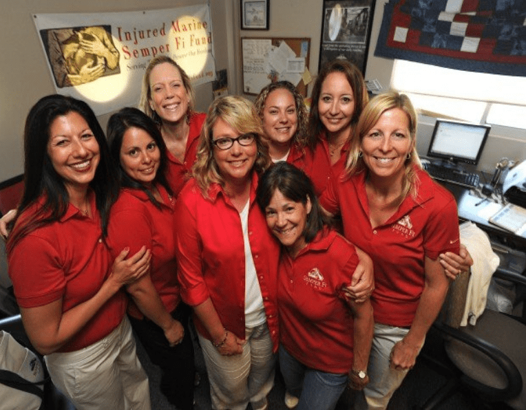 Spouses of military vets who started and help run Semper Fi Fund