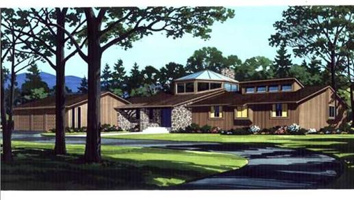 The modern house plan stylish living in the 21st century for One story passive solar house plans