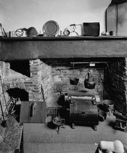 Kitchen in Paul Revere House, Boston, MA