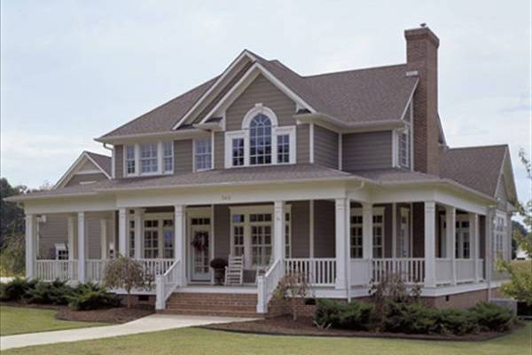 Farmhouse style house plan #117-1030