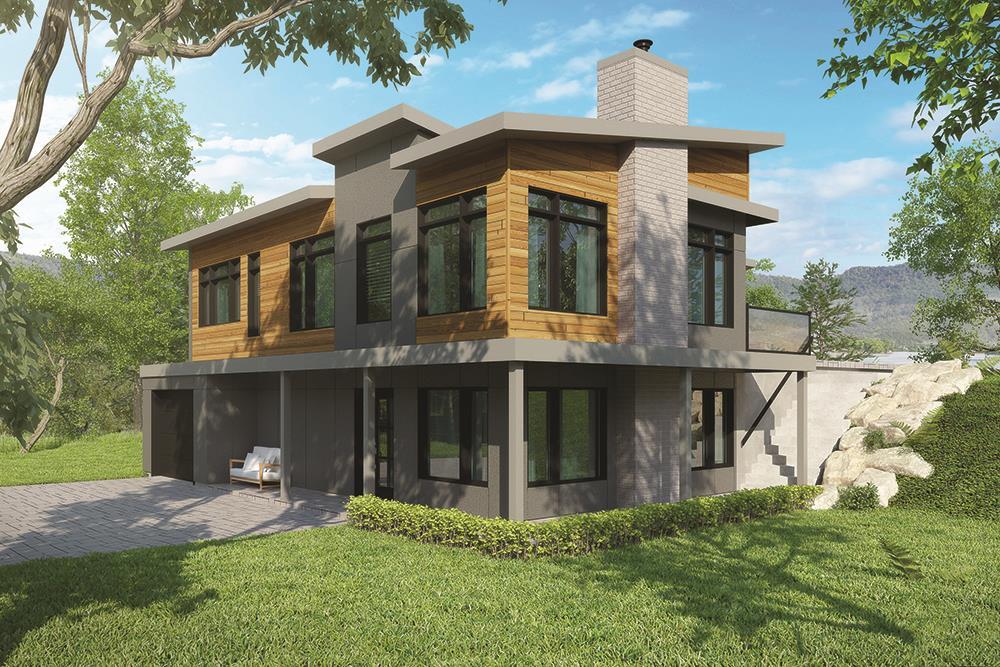 Duplex House Plan #126-1834