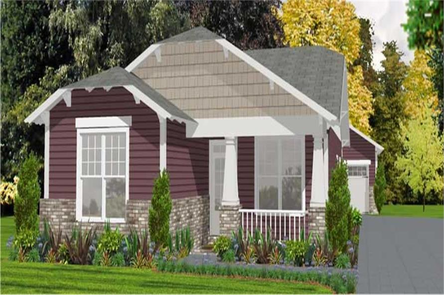 Main image for house plan #144-1019