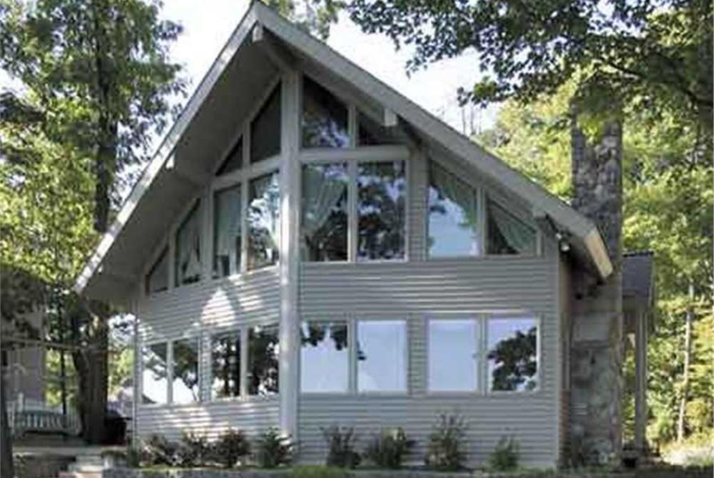 Passive Solar House Plan #146-2806