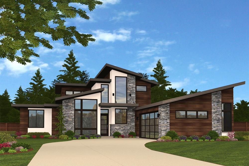 Contemporary house plan #149-1874