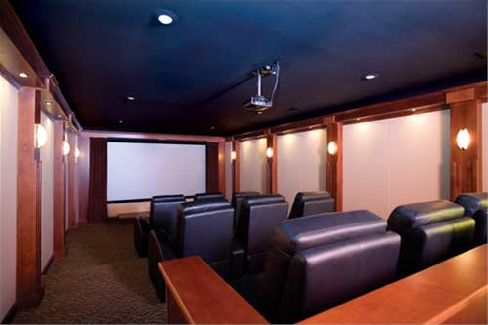 "Media room that takes ""home theater"" to the next level"