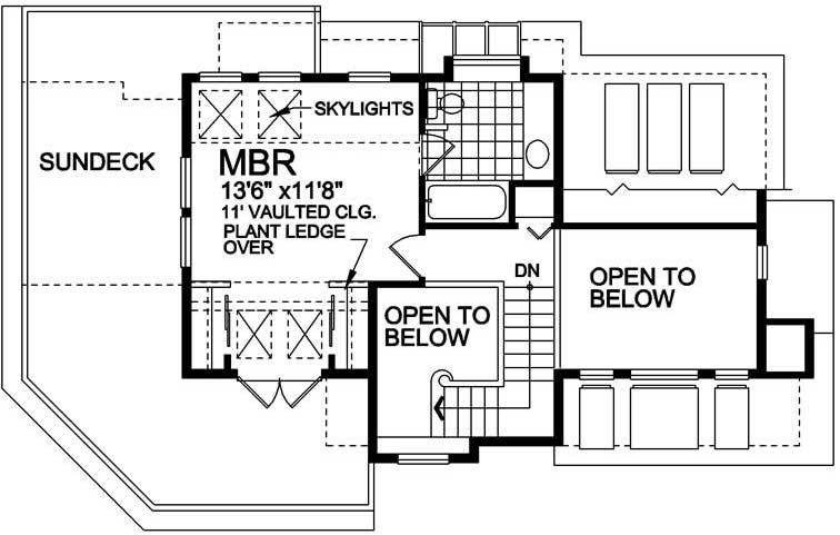 Floor plan of house plan #160-1009
