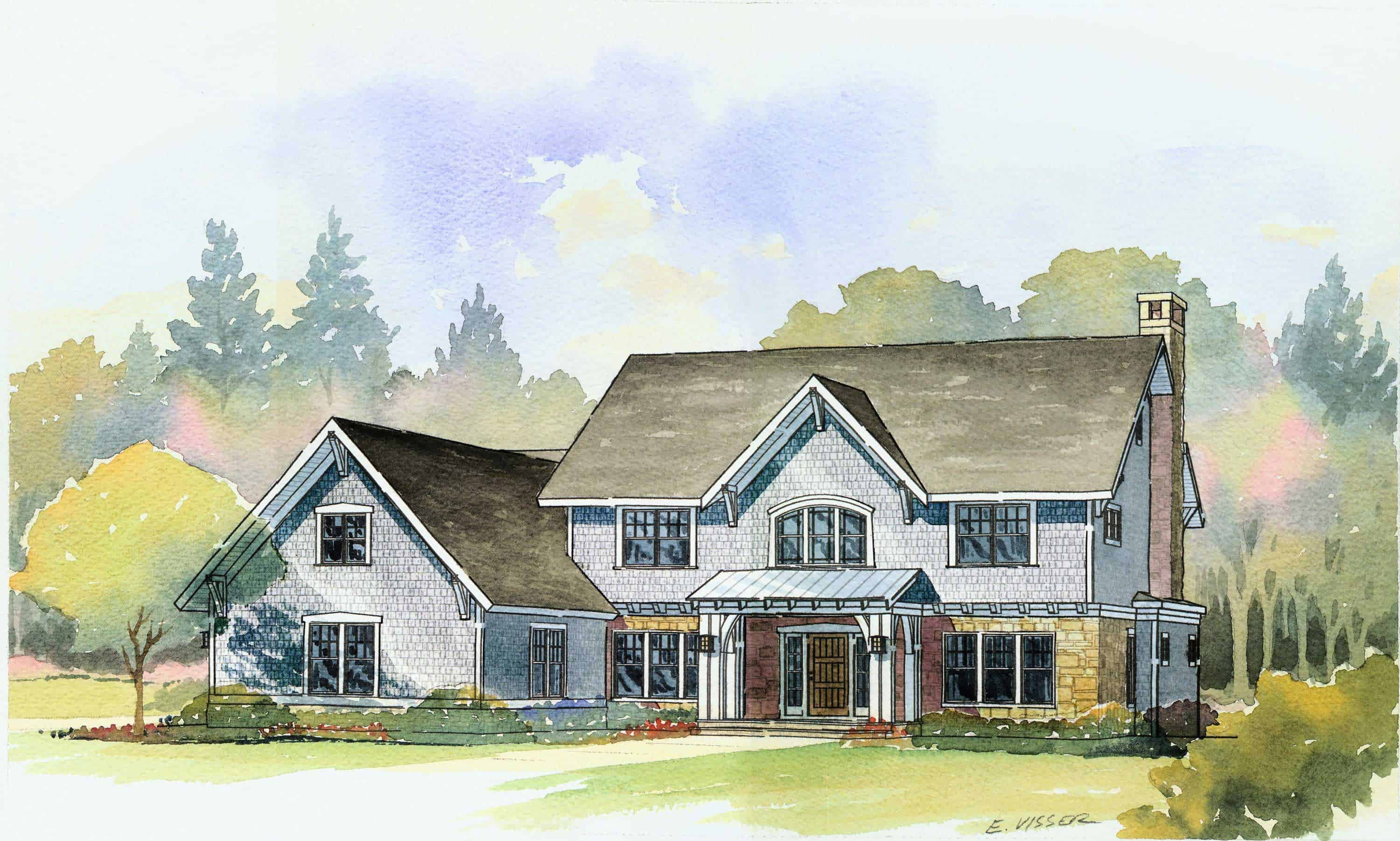 Luxury country manor with 4 bedrooms