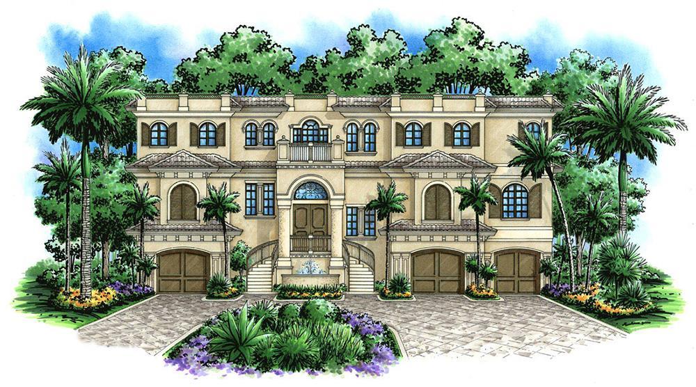 Spanish Style House Plan #175-1248