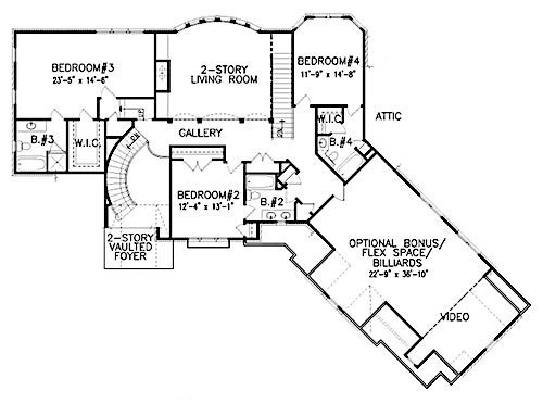 4000 to 4500 Square Foot House Plans - Luxury with Style Rage With House Plans Portico on