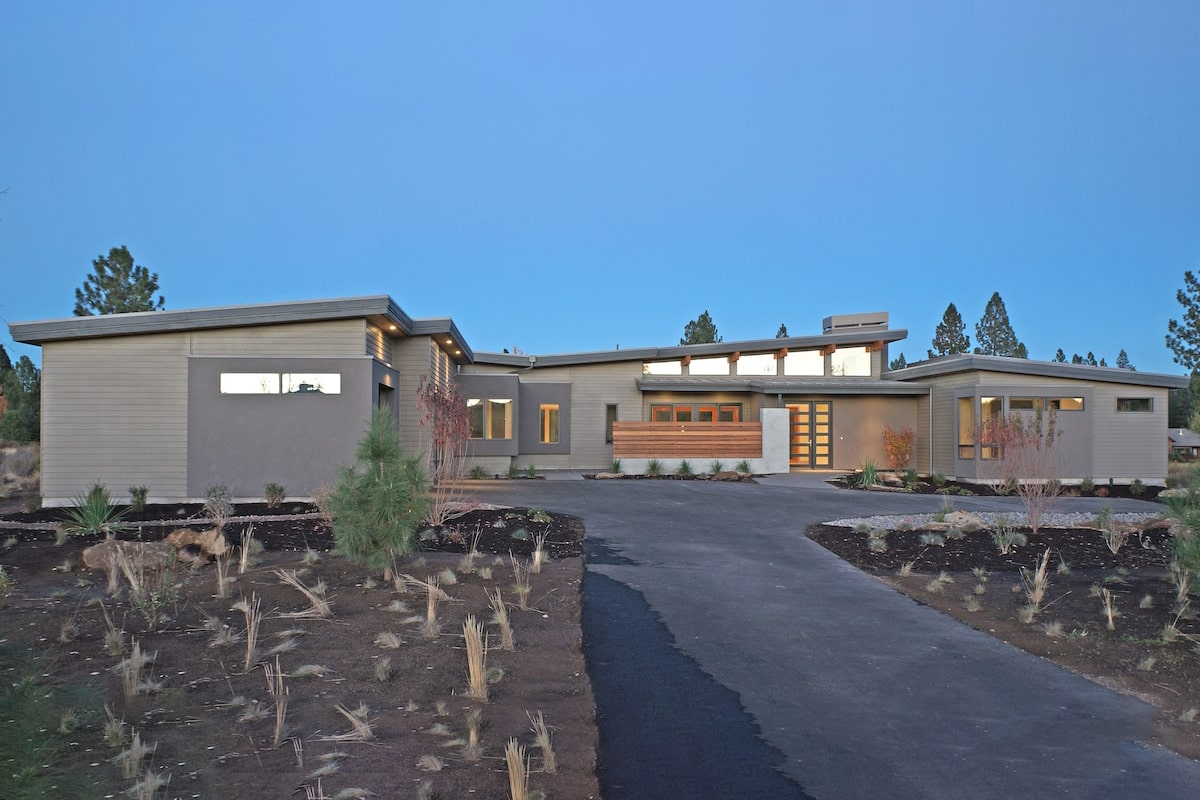 3,312-sq.-ft., 3-bedroom home that looks as if it could be taken from one of Joseph Eichler's California developments