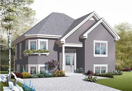 Split level house designs the plan collection for Bi level home designs