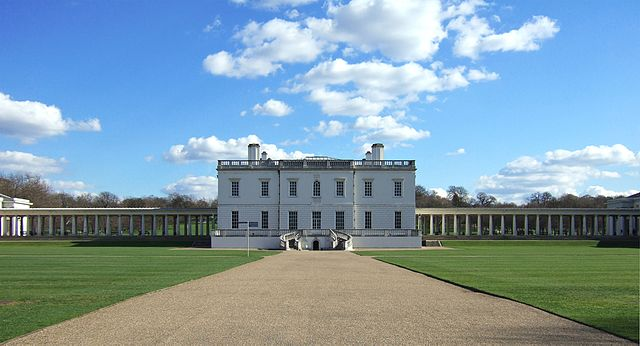 Queen's House, in Greenwich, UK, designed by Andrea Palladio