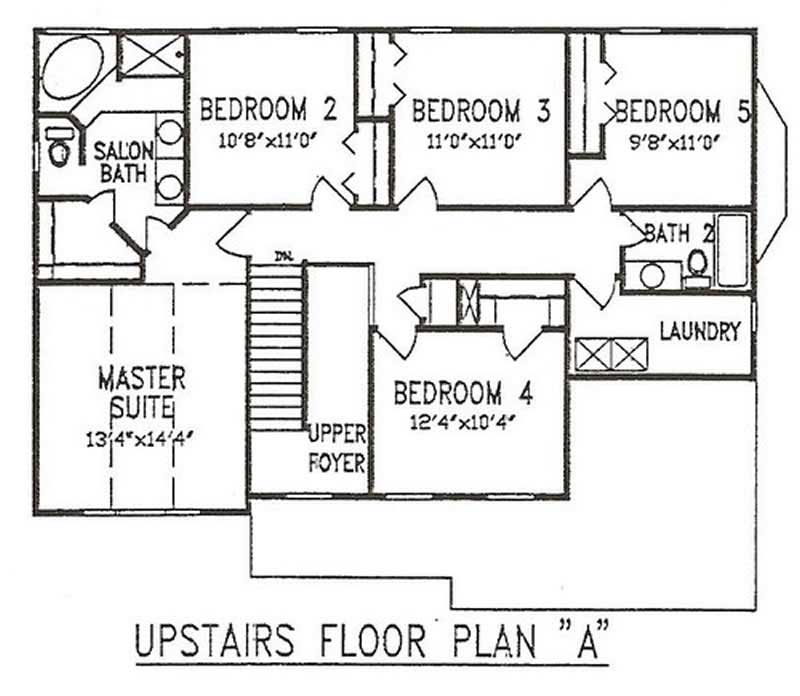 2nd Floor Plan (147-1131)