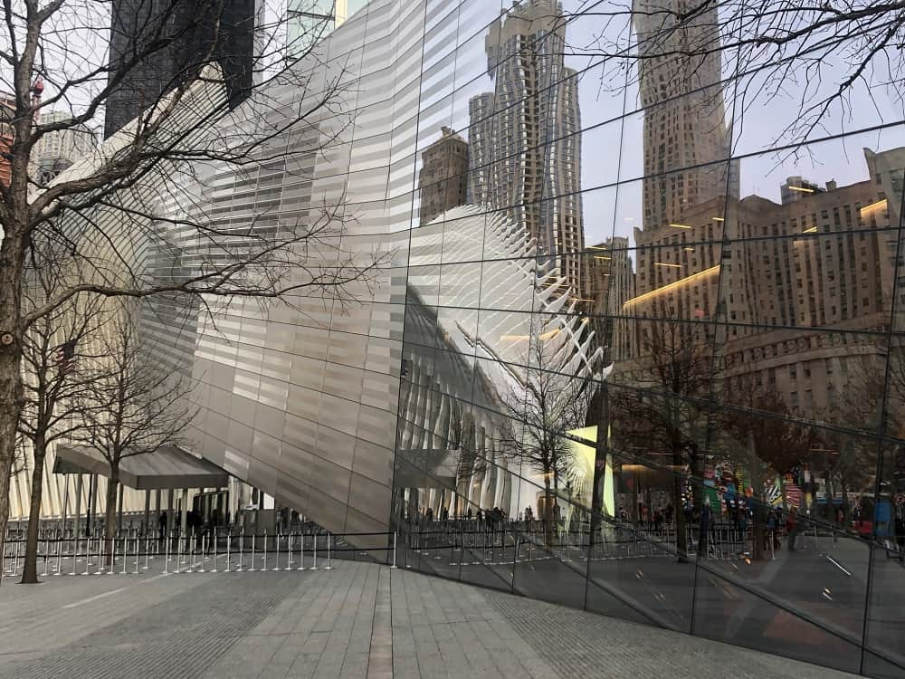 Alternate view of September 11 Memorial Museum designed by J. Max Bond Jr., Architect