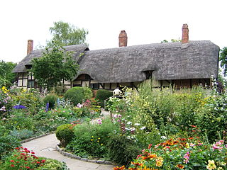 Shakespeare's Anne Hathaway's Cottage and Garden House Design