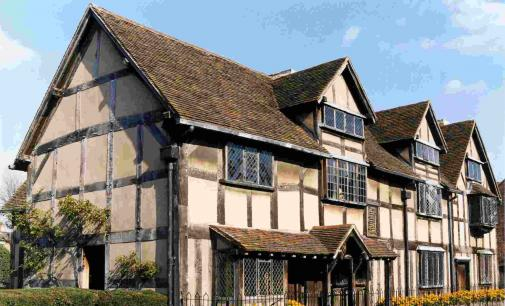 William Shakespeare's Tudor home.
