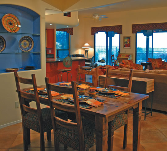 Kitchen Colors Color Schemes And Designs: Southwest Style Home: Traces Of Spanish Colonial & Native