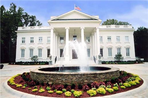 Home inspired by the White House