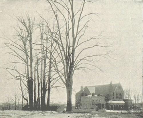 Alexander Hamilton's The Grange next to St. Lukes' Church