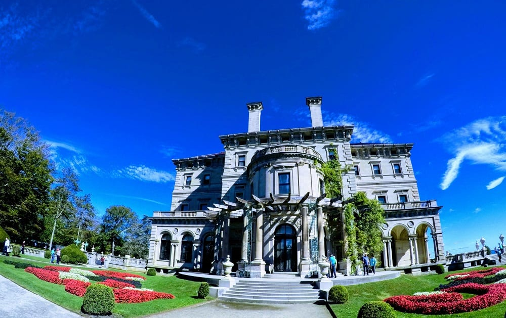 The Breakers - the grandest of the summer cottages in Newport, RI