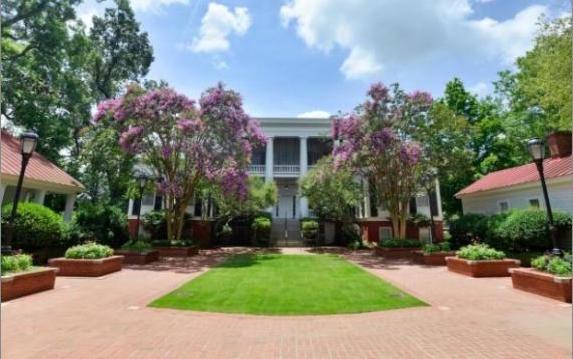Garden at University of Georgia President's Home