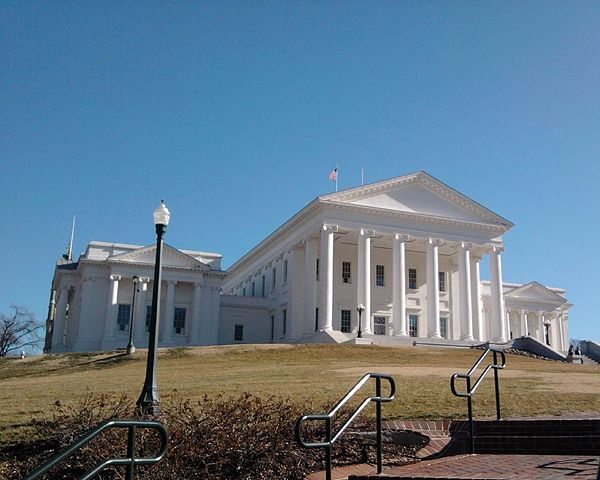 Virginia State Capitol, designed by Thomas Jefferson