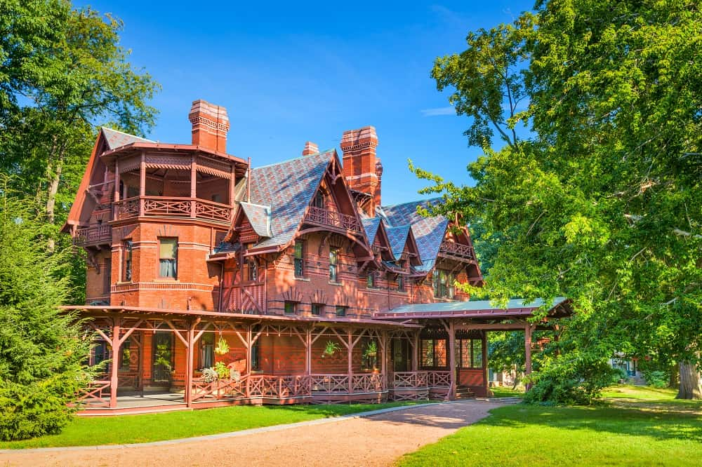 Mark Twain House - Classic example of Victorian Style