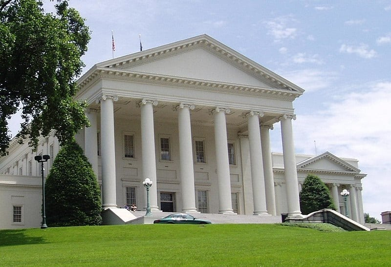Virginia State Capitol today - with additional wings