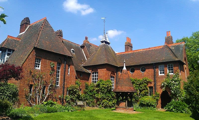 Red House - significant Arts and Crafts home by Philip Webb and William Morris in Southeast London