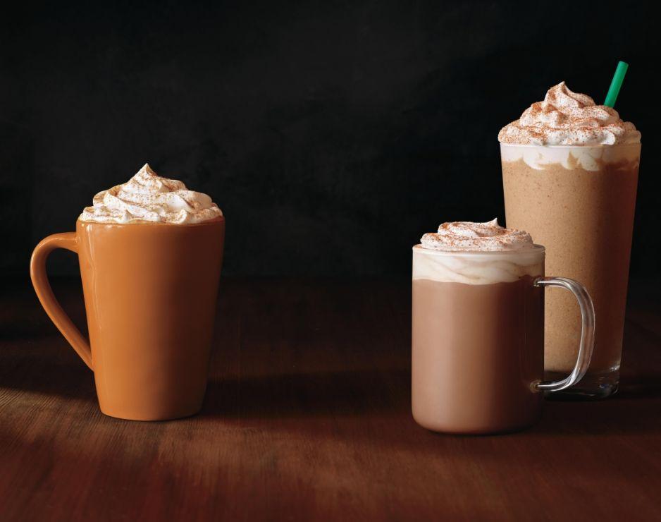 Starbuck Pumpkin Spice Latte and Chile Mocha