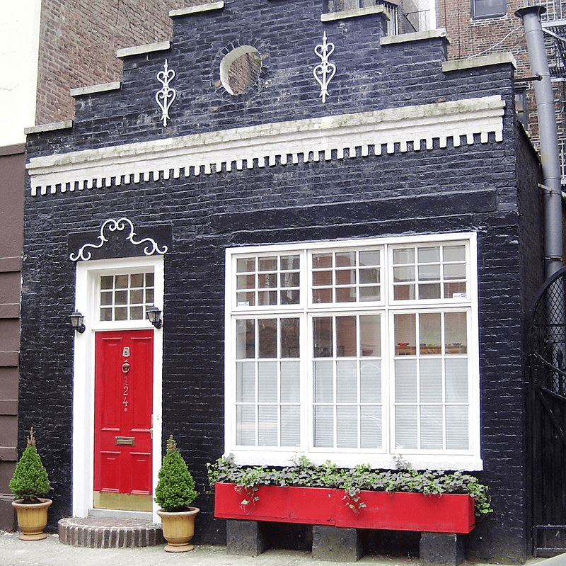 Carriage house in New York City that's now a single-family home